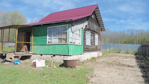 Продается 1-х этажный бревенчатый дом в пгт.Балакирево