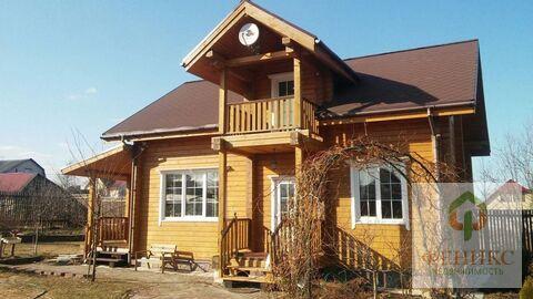 Дом из клееного бруса рядом с городом по хорошей цене!