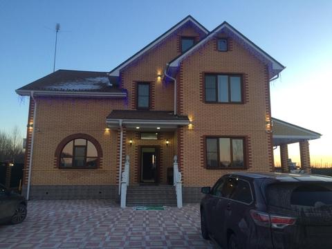 Дом 340 кв.м, Участок 17 сот. , Рязанское ш, 25 км. от МКАД.