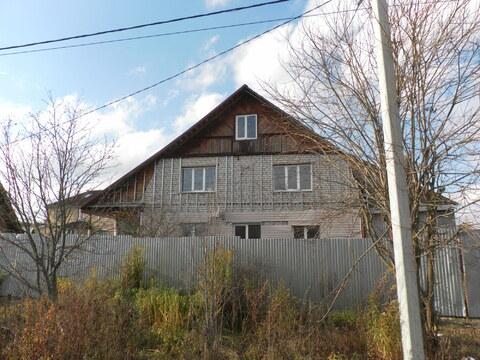 Двухэтажный дом в Струнино, ул.Западная