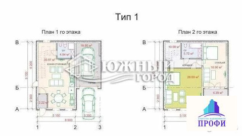 Дом 118.6 м2 на участке 1.5 сот.