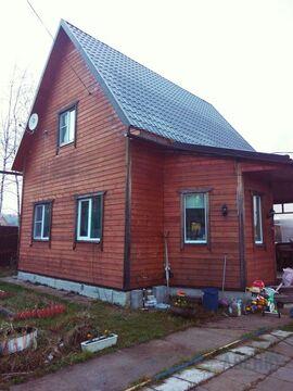 Зимний дом 100 кв.м на уч 6.3 сот. в обжитом СНТ.