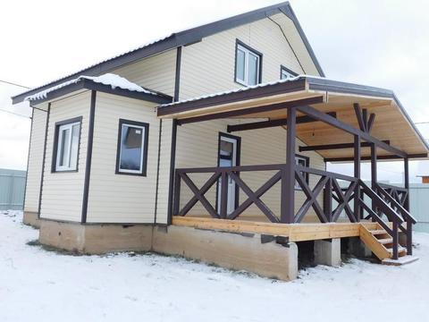 Готовый загородный дом для постоянного проживания Киевское шоссе