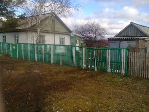 Дом в Логиновке. Павлоградский район. недорого. ц/отопл. баня.гараж