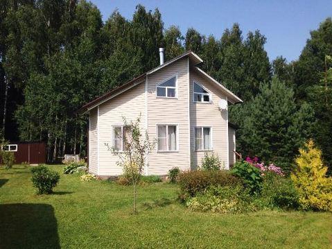 Дом на берегу реки Руза, прилесной участок 18 соток, д. Малоиванцево