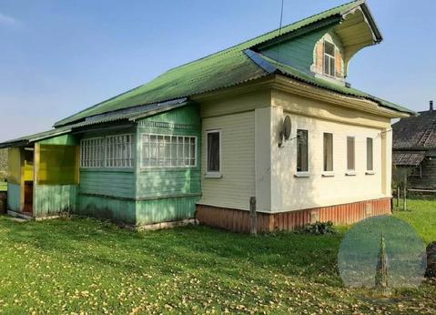 Верхняя Троица. Дом 64 м2 с участком 13 соток на 1-й линии Медведицы.