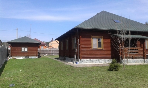 Дом 206 кв. м Участок 13 сот. Новорязанское ш 42 км от МКАД. .