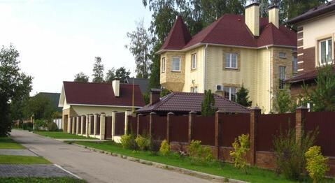 Дом в замковом стиле 430 кв.м в охраняемом поселке близ Беляниново, 8 .
