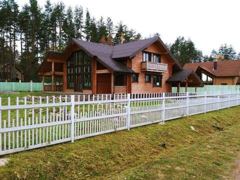 Выборгский район пос. Правдино ДНП «Правдинское озеро» зимний дом 250 .