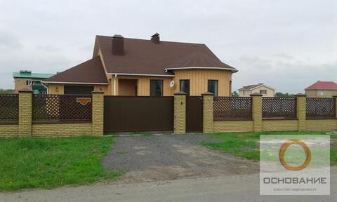 Дом мансардного типа в поселке Новосадовый
