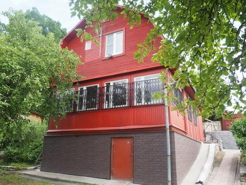 Капитальный дом с газом в деревне
