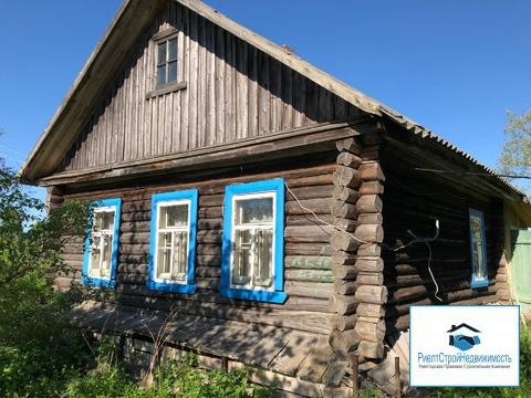 Дом в деревне ИЖС рядом с рекой и озером под прописку