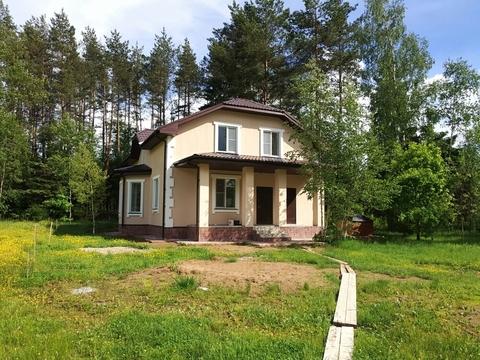 Участок 7,5 соток с новым домом в д. Богачево