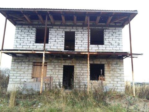 Дом недострой общ.пл 150 кв.м на участке 12 сот в г.Струнино ПМЖ