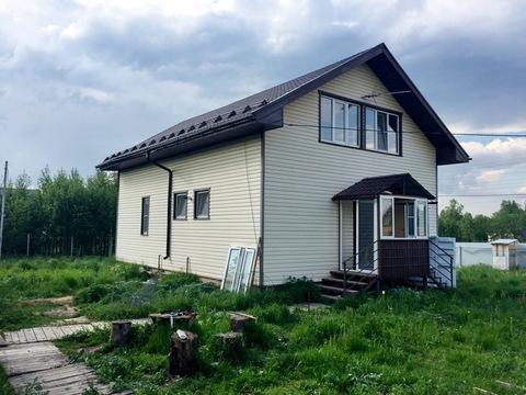 Дом 155 кв.м. под ключ в Рузском районе, пос. Нестерово, 80 км от МКАД