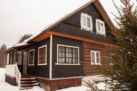 Жилой дом с баней недалеко от озера