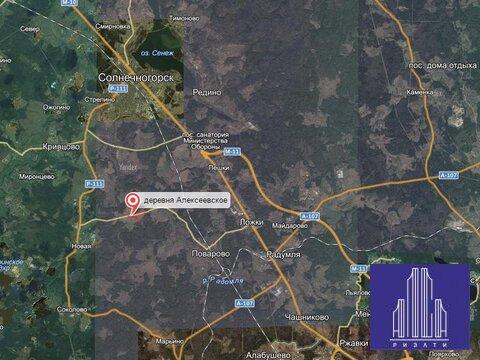 Земельный участок 13,8 Га д. Алексеевское