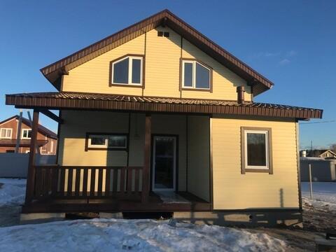 Купить новый дом с участком в Подмосковье под ключ недорого
