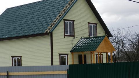 Жилой дом в деревне Киевское Калужское шоссе Верховье