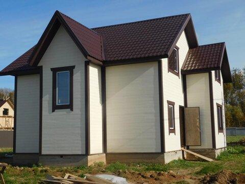 Новый дом в деревне по Калужскому Киевскому шоссе 9сот прописка ПМЖ