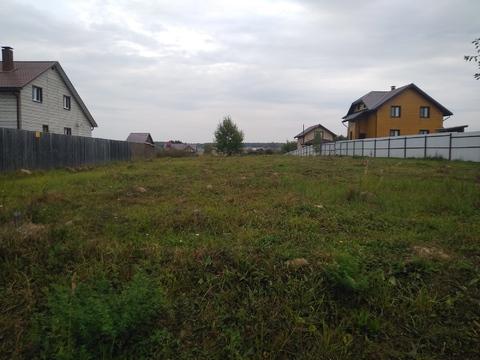 Участок 22 сотки в деревне Большое Петровское, Чеховский район