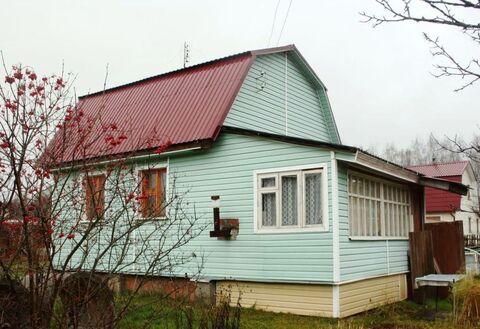 Дача 60 м2 на участке 8 соток в СНТ «Астафьево», Ступинский район