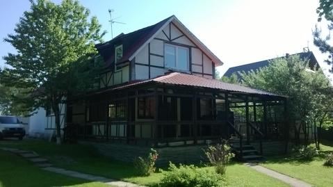 Продам дом в д.Борки 210 кв.м, на участке 30 соток с выходом в лес, в .