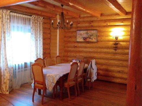 Дом из рубленного бревна под ключ, д. Черная Грязь Калужская область