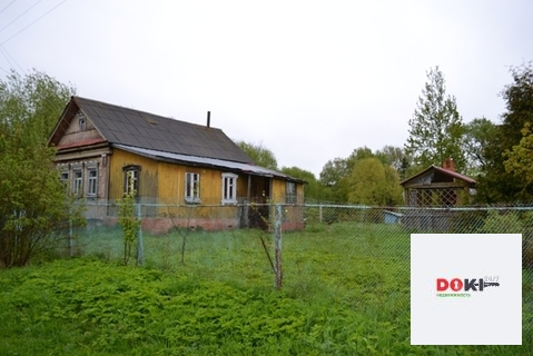 Крепкий бревенчатый дом в Егорьевском районе в д.Поповская