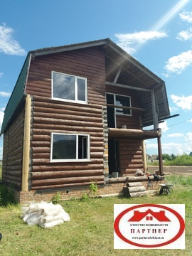 Двухэтажный дом в поселке Ракитное